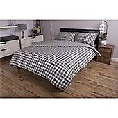 Deyongs 1846 200 Thread Count 100% Cotton Printed Bedlinen Dogtooth Single