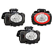 Rolson 3-piece 10 LED Headlight