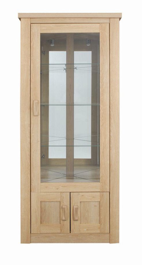 Caxton Countryman Free Standing Corner Cabinet in Chestnut