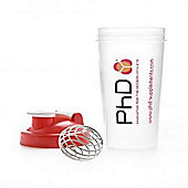 PhD Shaker Bottle inc Metal Mix Ball 750ml