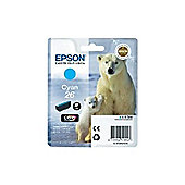Epson Singlepack 26 Claria Premium Ink Cyan