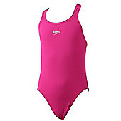 Speedo Essential Endurance Medalist Swimsuit - Pink - Pink