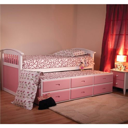 Sweet Dreams Ruby Captains Bed - Pink