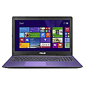 Asus X553MA 156 Laptop, Intel Celeron, 4GB Memory, 1TB Storage - Purple