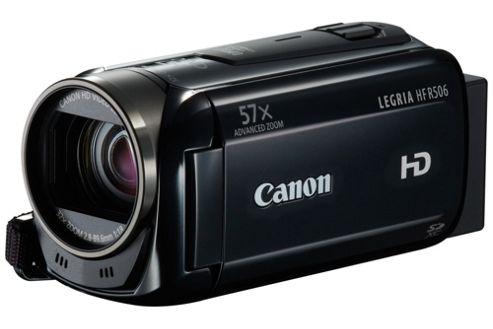 Canon HF R506 Camcorder Black FHD SD/SDHC/SDXC