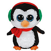 Ty Christmas Beanie Boos - Icicles The Christmas Blue Owl