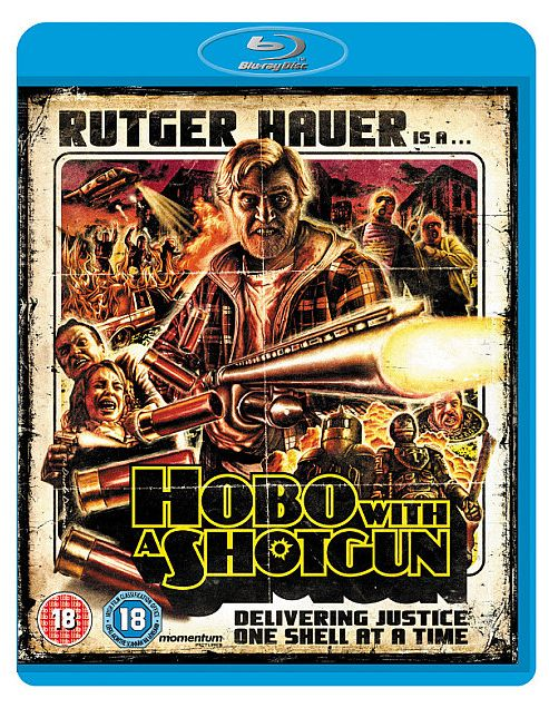 Hobo With A Shotgun Bluray
