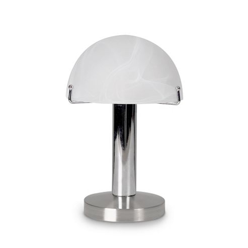 Buy Huxley Mushroom Style Touch Table Lamp Polished