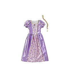 Disney Princess Rapunzel Reversible Dress-Up Costume years 03 - 04 Purple/White