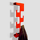 The Metal House Retro Coat Rack - Red
