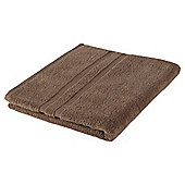 Tesco 100% Combed Cotton Bath Towel Mocha