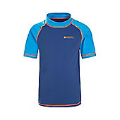 Mountain Warehouse Short Sleeved Kids Rash Vest ( Size: 13-14 yrs )