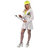 Brainiac Doctor Lab Lady Costume Small