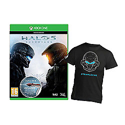 **Limited time offer only ** Halo 5 Guardians for Xbox One PLUS exclusive #Team Locke shirt