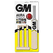 Gunn & Moore Aura Mini Cricket Bat Ball Wicket Set