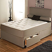 Vogue Beds Memory Touch Pocket Utopia 1500 Platform Divan Bed - Small Double / Without Drawer
