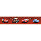 Disney Cars Wall Border Roll