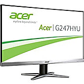 Acer G7 Series G277HUsmidp (27 inch) TN+Film LED Monitor 100M:1 350cd/m2 2560x1440 1ms DisplayPort/HDMI/Dual-Link DVI