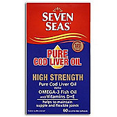 Cod Liver Oil Oad Capsules A D & E
