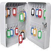 Sterling Grey Key Cabinet - 48 keys