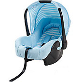 My Babiie Group 0+ Car Seat (Baby Blue Stripes)