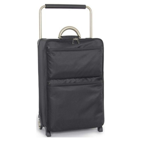 IT Luggage World's Lightest Suitcase, Black Medium