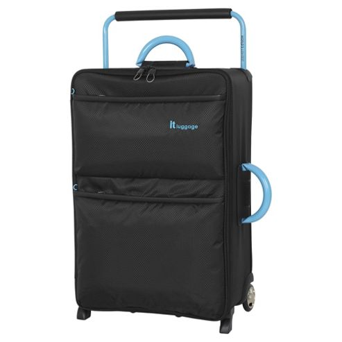IT Luggage World's Lightest 2-Wheel Medium Black Suitcase