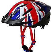 Kiddimoto Cycle Helmet - Union Jack - Small
