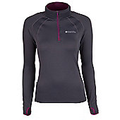 Stalactite Womens Warmstretch Top - Grey