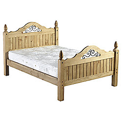 Home Essence Corona Scroll Bed Frame