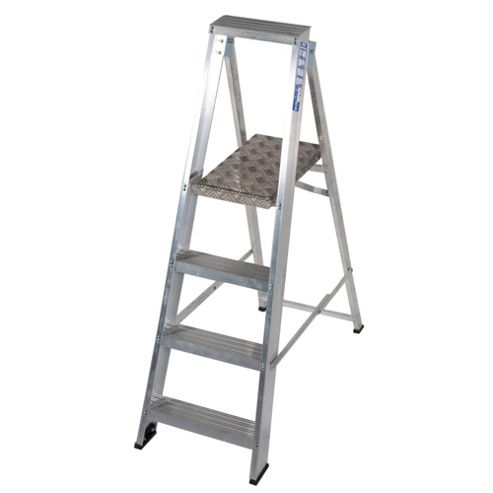 Industrial 4 Tread Platform Step Ladder