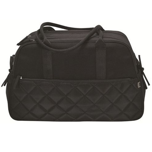 OiOi Diamond Quilt Carry All Changing Bag Black