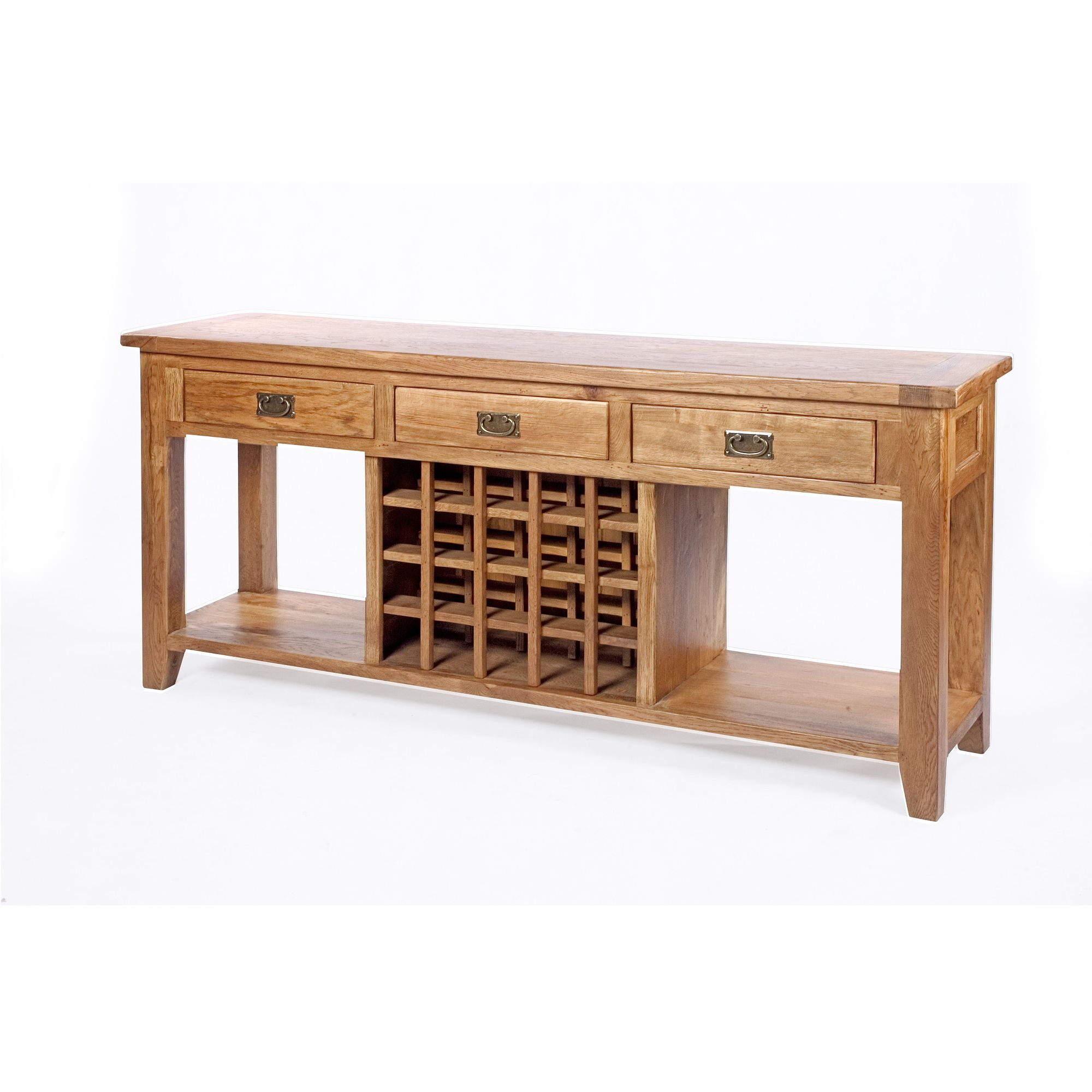 Wiseaction Florence Wine Sofa Table at Tesco Direct
