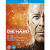 Die Hard Collection 1-5 (Blu-ray Boxset)