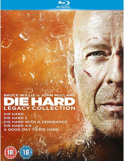 Die Hard Collection 1-5 (Blu-ray Boxset)