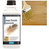 Polyvine Wax Finish Varnish- Dead Flat - 1 Litre