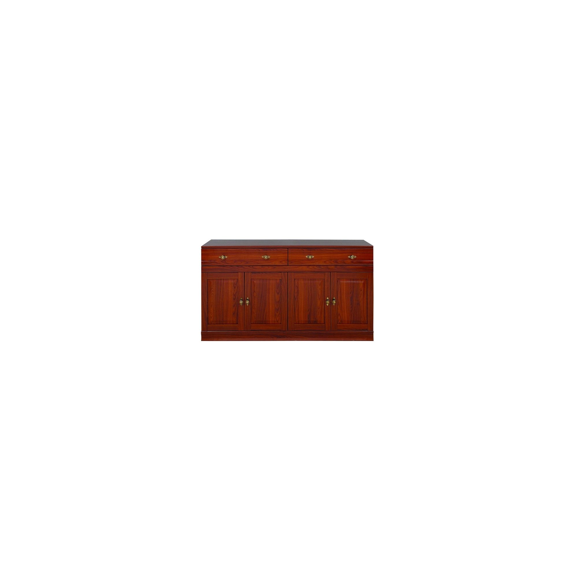 Caxton Lincoln 4 Door / 2 Drawer Sideboard in Cherry at Tesco Direct