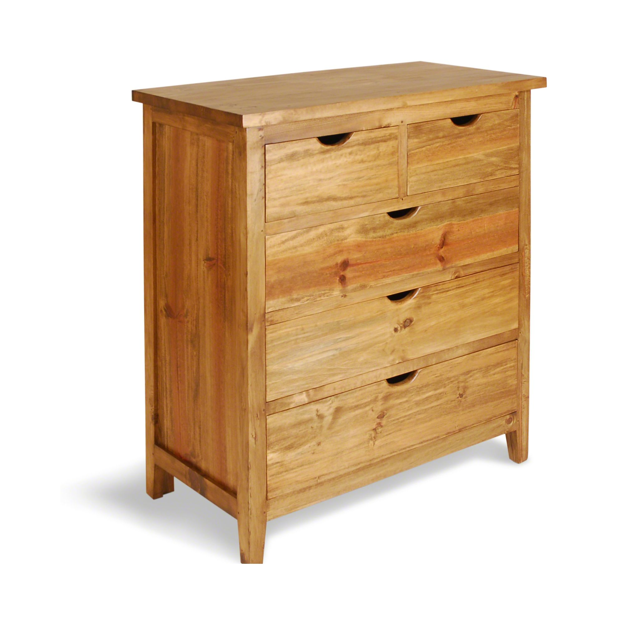 Oceans Apart Indiana Pine 5 Drawer Chest at Tescos Direct