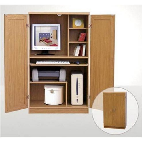 Buy Elements Hideaway puter Desk in Beech from our
