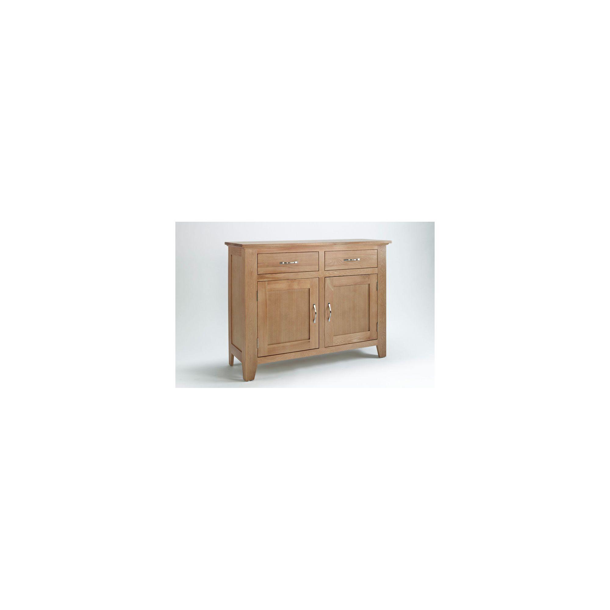 Ametis Sherwood Oak Two Drawer Sideboard at Tesco Direct