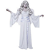 Cemetery Angel Grey - Adult Costume Size: 12-14