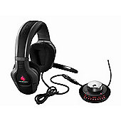 Cooler Master CM Storm Sirus Gaming Headset - 5.1 True Surround USB Sound Card with Volume Control Unit