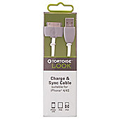 Tortoise™ Look Charge & Sync Cable, Grey.