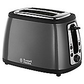Russell Hobbs 19154 2 Slice Toaster - Black & Silver