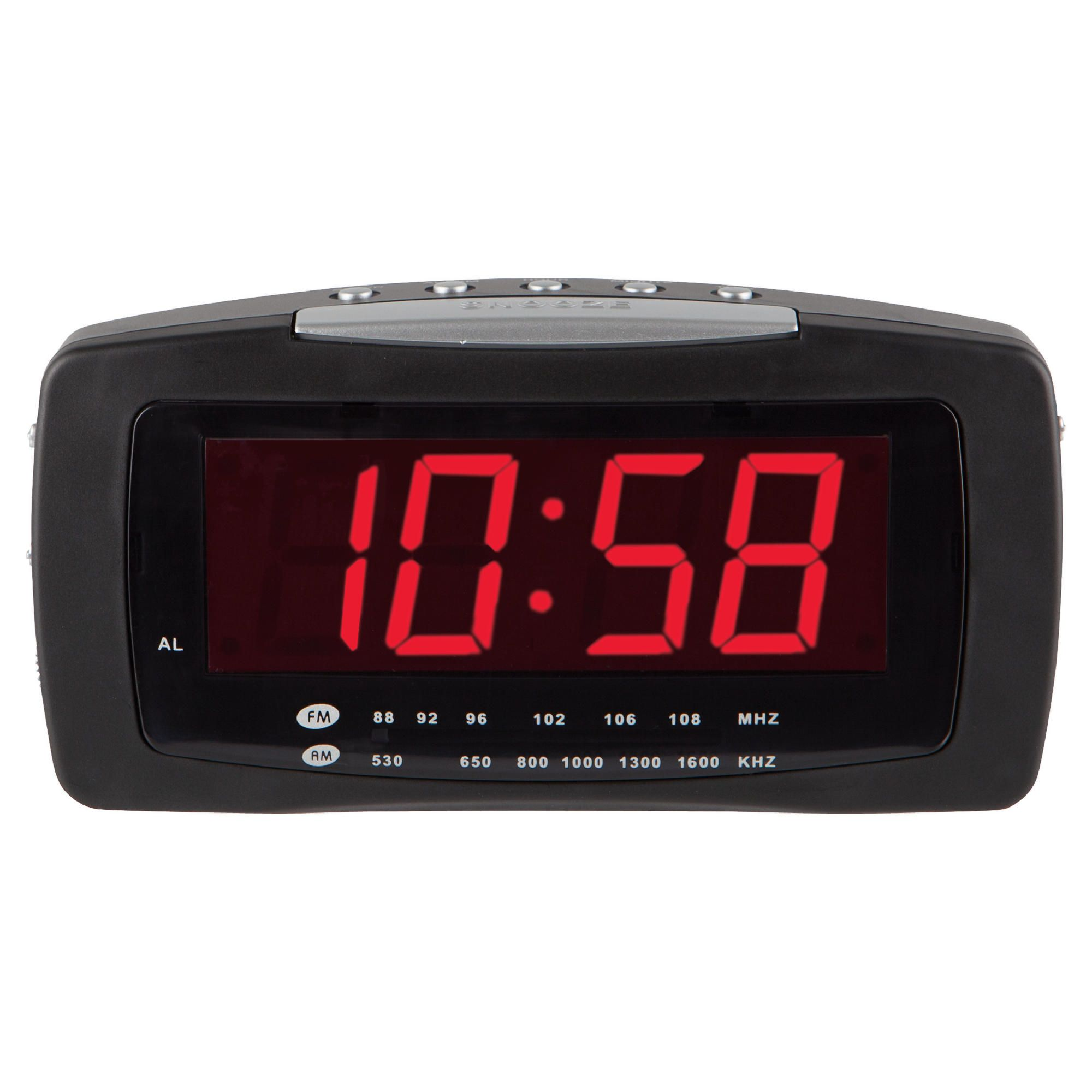 tesco value cr 106 clock radio black tesco value cr 106 clock radio black. Black Bedroom Furniture Sets. Home Design Ideas