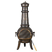 Landmann Contemporary Large Cast Iron Chimenea