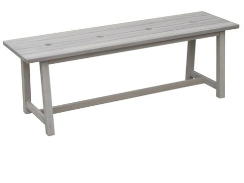 Craft refectory backless bench