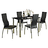 Value by Wayfair Betula Dining Table and 4 Chairs