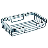 Bridgepoint Soap Basket in Chrome