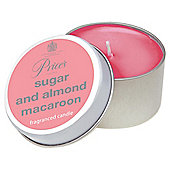 Prices Candle Tin Sugar And Almond Macaroon